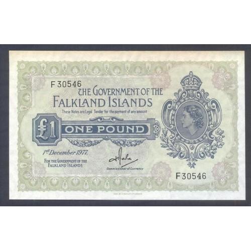 FALKLAND ISLANDS 1 Pound 1977