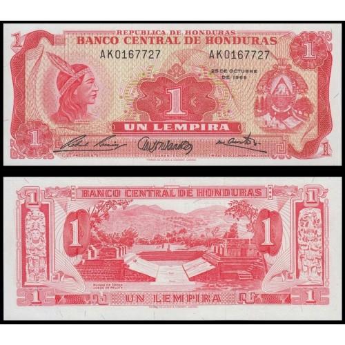 HONDURAS 1 Lempira 1968