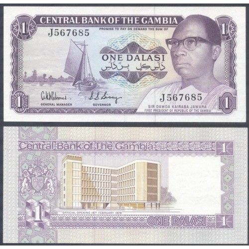GAMBIA 1 Dalasi 1978...