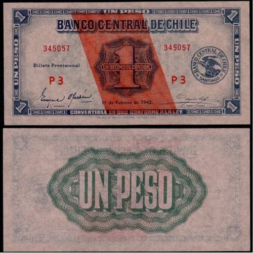 CHILE 1 Peso 1942