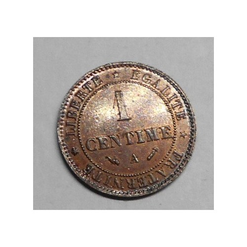 FRANCE 1 Centime 1896