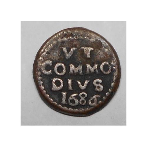CARLO II Grano 1686