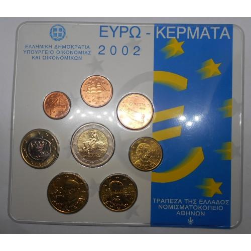 GREECE Set 2002 Official Euro