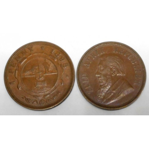 SOUTH AFRICA 1 Penny 1898