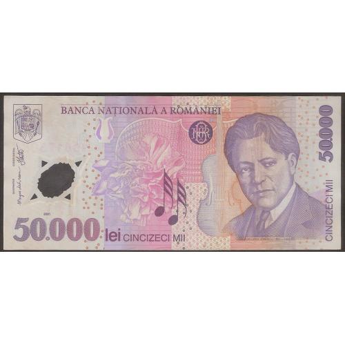 ROMANIA 50.000 Lei 2002...