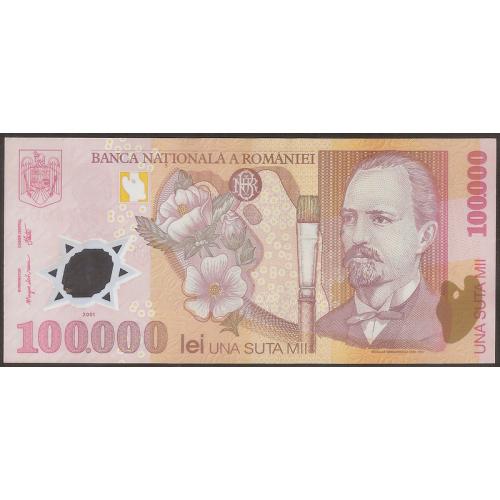 ROMANIA 100.000 Lei 2003...