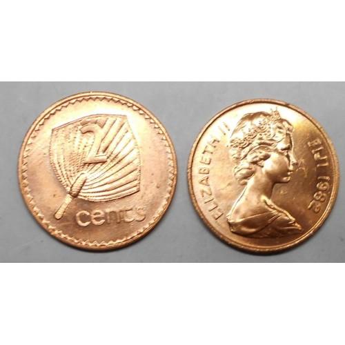FIJI 2 Cents 1982
