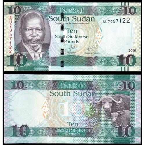 SOUTH SUDAN 10 Pounds 2016