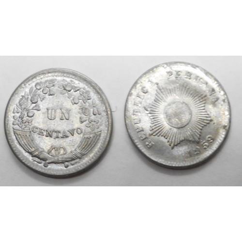 PERU 1 Centavo 1959