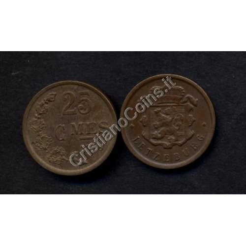 LUXEMBOURG 25 Centimes 1946