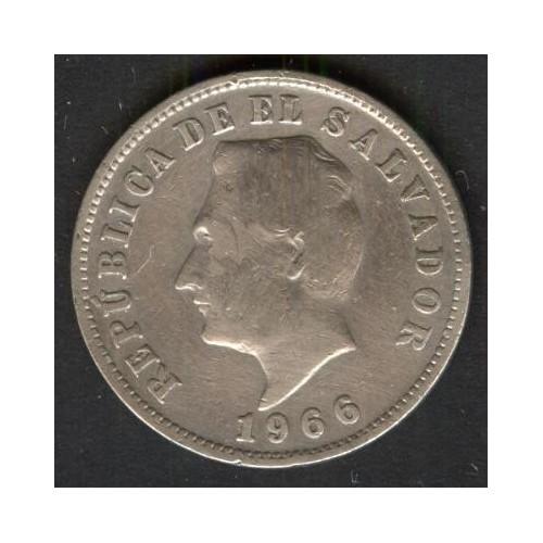 EL SALVADOR 5 Centavos 1966