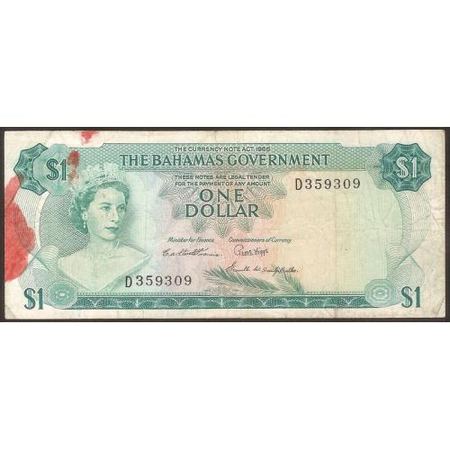 BAHAMAS 1 Dollar 1965