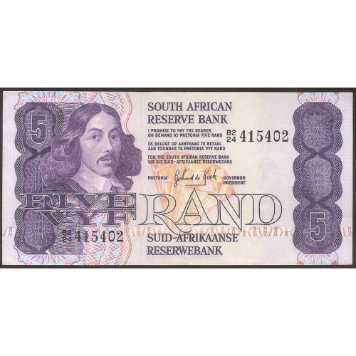 SOUTH AFRICA 5 Rand 1978