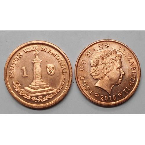 ISLE OF MAN 1 Penny 2010 AA