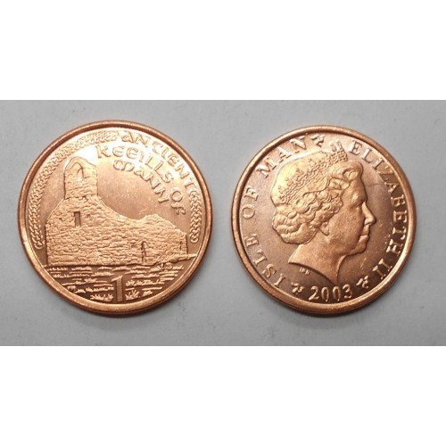 ISLE OF MAN 1 Penny 2003 AE