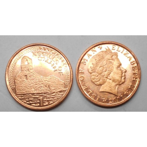 ISLE OF MAN 1 Penny 2001 AC