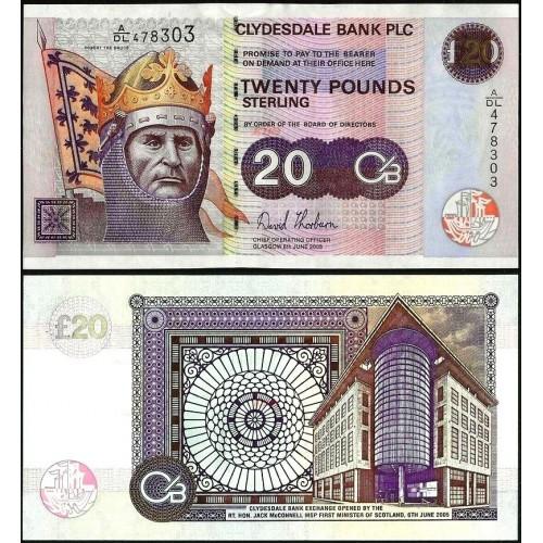 SCOTLAND 20 Pounds 2005...