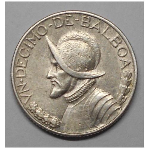 PANAMA 1/10 Balboa 1930 AG