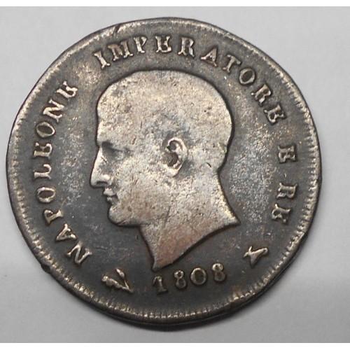 NAPOLEONE 3 Centesimo 1808 B
