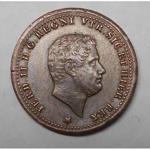 FERDINANDO II 1 TORNESE 1851