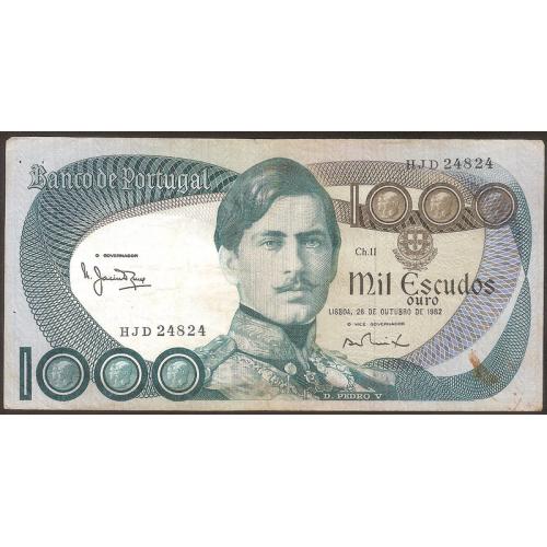 PORTUGAL 1000 Escudos 1982
