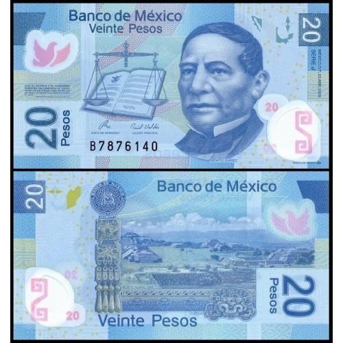 MEXICO 20 Pesos 2009 Serie...