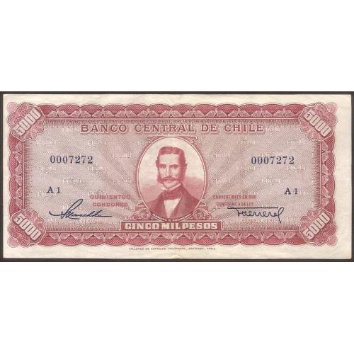 CHILE 5000 Pesos 1947