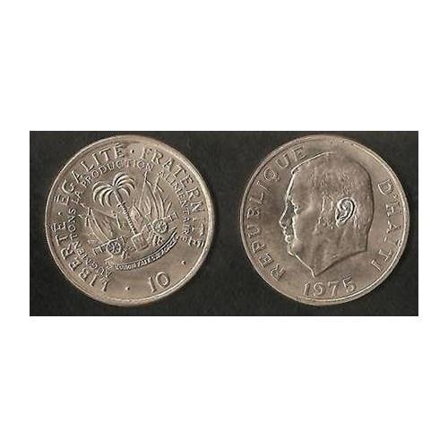 HAITI 10 Centimes 1975 FAO
