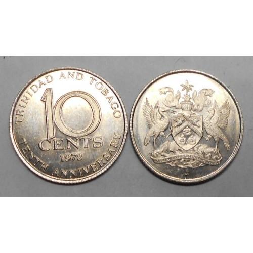 TRINIDAD & TOBAGO 10 Cents...