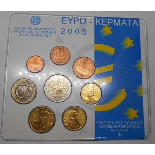 GREECE Set 2003 Official Euro