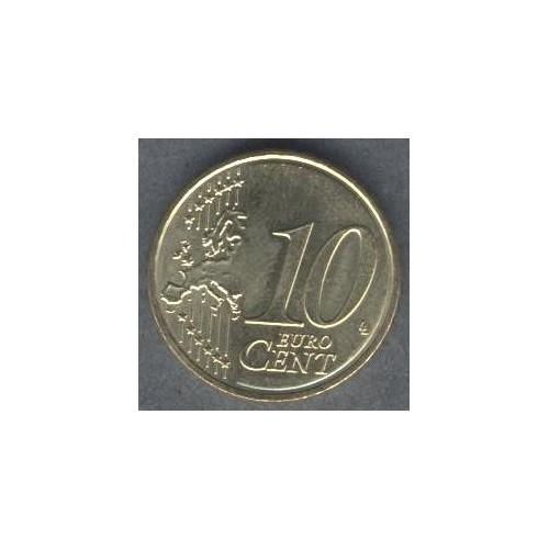 SPAIN 10 Euro Cent 2000