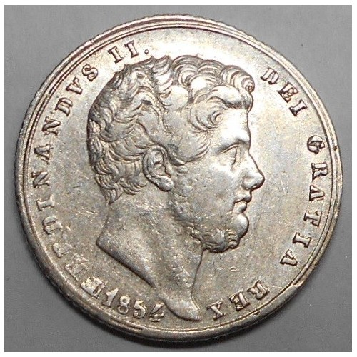 FERDINANDO II TARI' 1854 AG