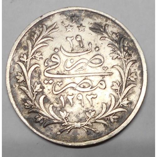 EGYPT 10 Qirh AH 1293/29...