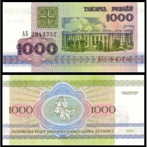 BELARUS 1000 Rublei 1992