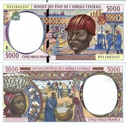 CAMEROUN (C.A.S.) 5000...