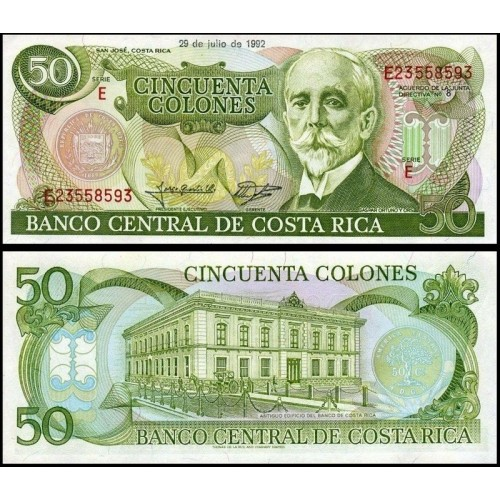 COSTA RICA 50 Colones...