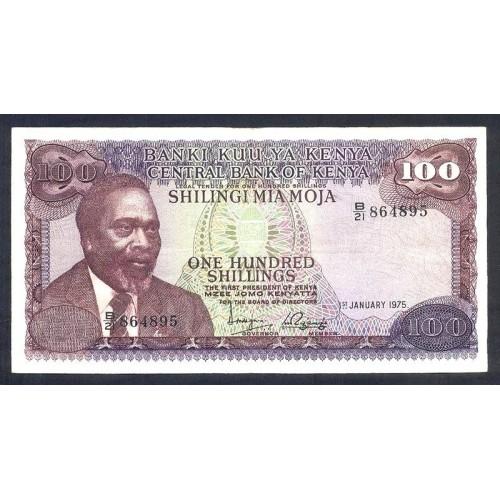 KENYA 100 Shillings 1975