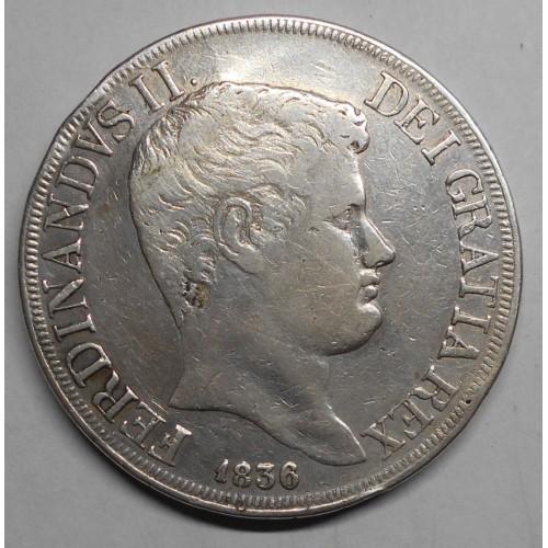 FERDINANDO II PIASTRA 1836 AG