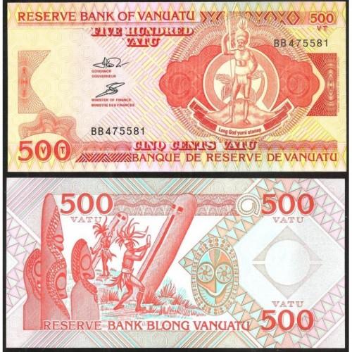 VANUATU 500 Vatu 1993