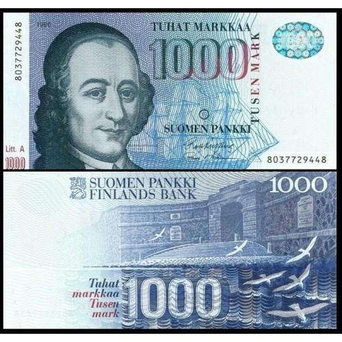 FINLAND 1000 Markkaa 1986
