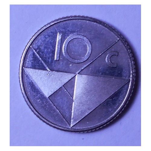 ARUBA 10 Cents 1986