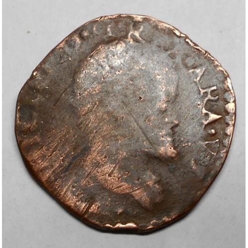 FILIPPO II Tornese 1583