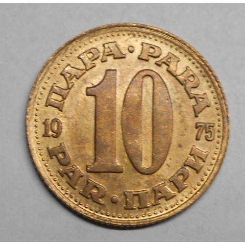 YUGOSLAVIA 10 Para 1975