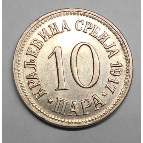 SERBIA 10 Para 1917