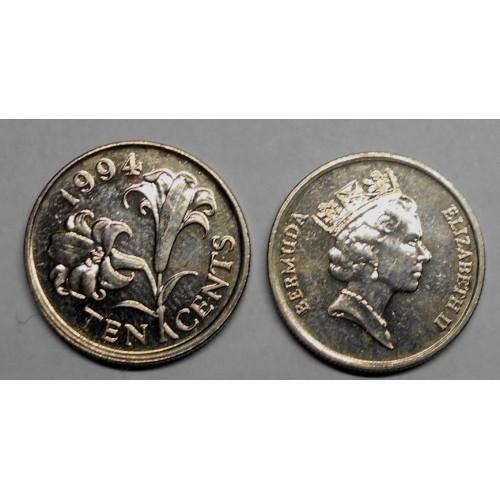 BERMUDA 10 Cents 1994