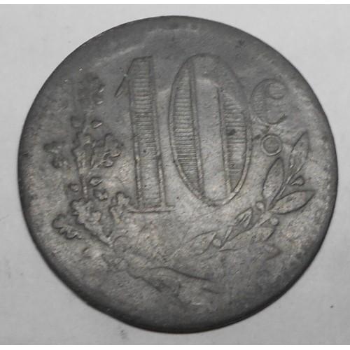 ALGERIA 10 Centimes 1917...