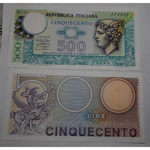 500 Lire Mercurio 1974