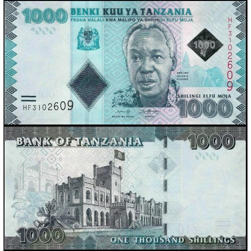 TANZANIA 1000 Shillings 2019