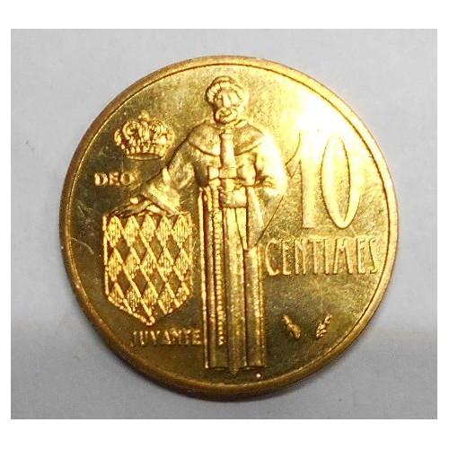 MONACO 10 Centimes 1982