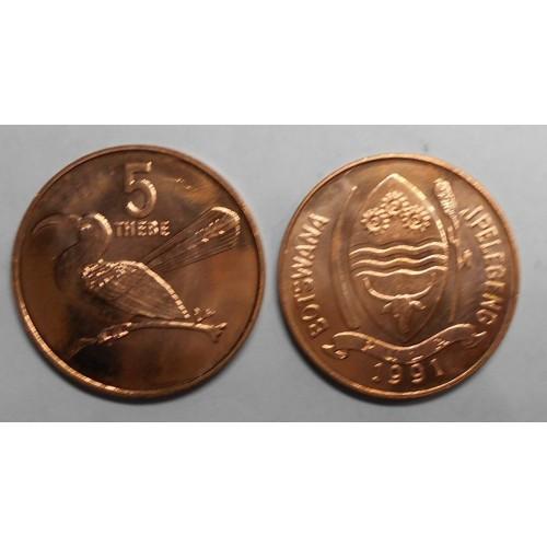 BOTSWANA 5 Thebe 1991